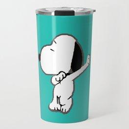 Dancing Dog Travel Mug