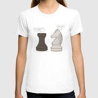chess T-shirts featuring Chess by rich_hood