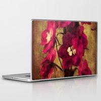 vintage flowers Laptop & iPad Skins featuring Vintage Flowers by Christine Belanger
