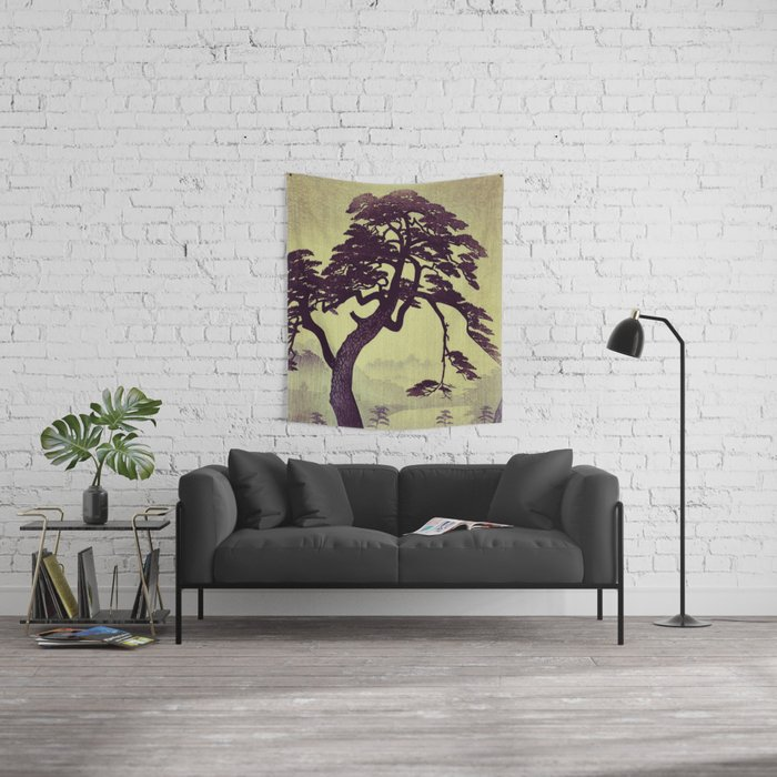 Old Man Standing Wall Tapestry