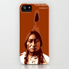 Sitting Bull Native Indian Slim Case iPhone (5, 5s)
