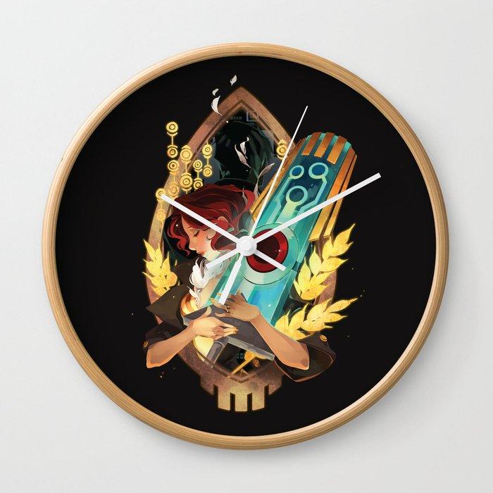 Like It's Written in the Stars - Transistor Wall Clock