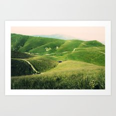Monte Grappa, North Italy Art Print