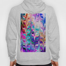 Abstract colorful marble swirls pattern Hoody