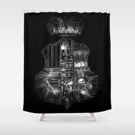 Sedlec V Shower Curtain
