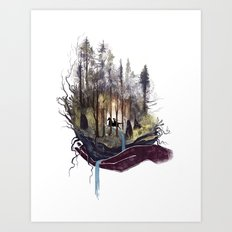 Earth Song Art Print