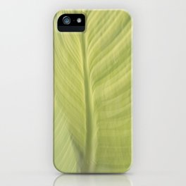 blurred perception of nature #5 iPhone Case