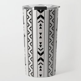 Llamas_Gray & Black Travel Mug