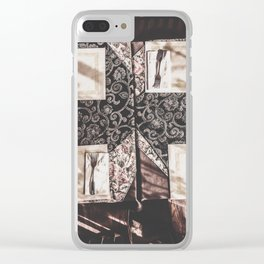 dinner table Clear iPhone Case