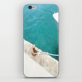 Boat Green iPhone Skin