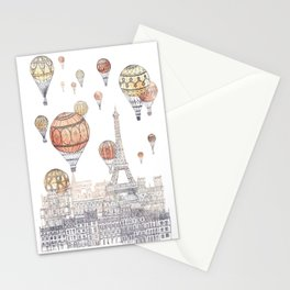 Voyages Over Paris ~ Refresh Stationery Cards