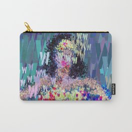 Wonder Type Woman - Abstract Pop Art Comic Carry-All Pouch