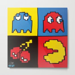 Pacman   Pop Art  Metal Print