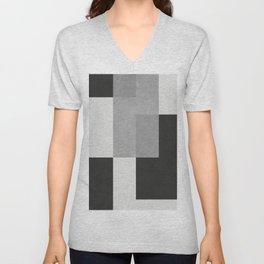 Geometric art I Unisex V-Neck
