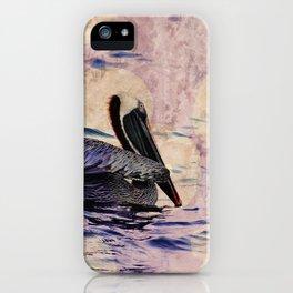 twilight pelican iPhone Case