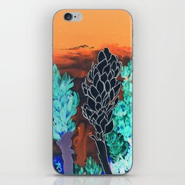 DESERT NIGHT Alpinia Purpurata iPhone Skin