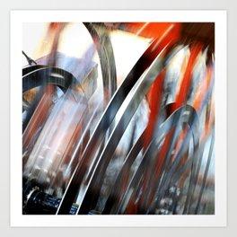 Wheel Abstract Art Print