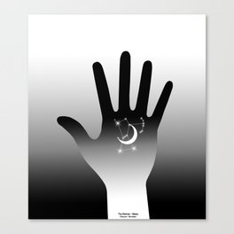 Palm Constellation - Orion Canvas Print