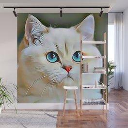Persian Cat Wall Mural