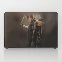daryl dixon iPad Cases featuring Daryl Dixon - TWD by Annabelle Pickering