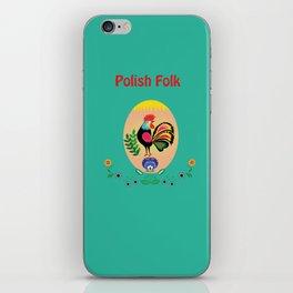 Polish Folk - Decorative Easter Egg iPhone Skin