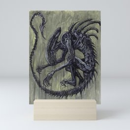 Xenomorph Mini Art Print