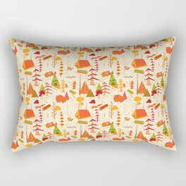 woods pattern Rectangular Pillow