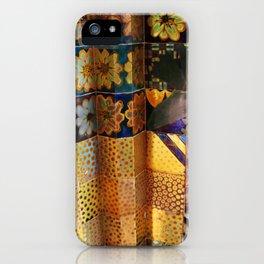 Venice venezia biennale detail Italy photo photography digital floral gold colors iPhone Case