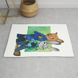 Partners in Crime Rug