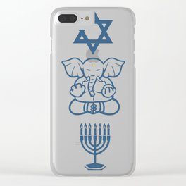 Jew Gift Judaism Israel Religion Rabbi Clear iPhone Case