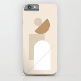 PADRONA DI SÉ - Be the Master of Yourself - Modern abstract art iPhone Case