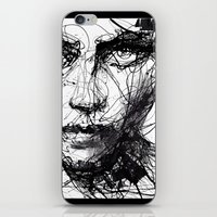 agnes iPhone & iPod Skins featuring In trouble, she will. by agnes-cecile