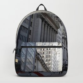 New York city street view Backpack
