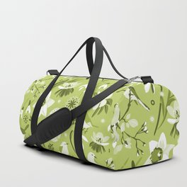 Finally Easter! [mono green] Duffle Bag
