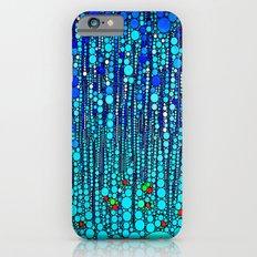 :: Blue Martini Celebration :: iPhone 6 Slim Case