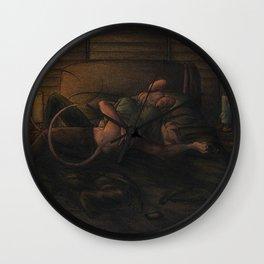 Killing Loneliness Wall Clock