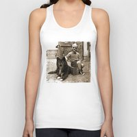 friendship Tank Tops featuring Friendship by Seamless