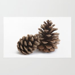 Two pinecones Rug
