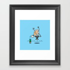 Robot 5-9 Framed Art Print