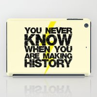 history iPad Cases featuring HISTORY by Silvio Ledbetter