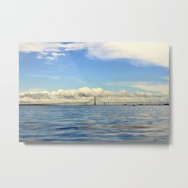 Bridge Over the Rio Negro Metal Print