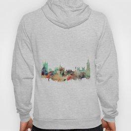 London Watercolor Skyline Hoody