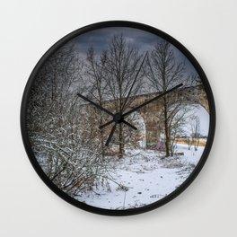 DE - Baden-Württemberg : Viadukt Laupheim Wall Clock