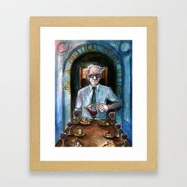 Bernie Sanders as Temperance Framed Art Print