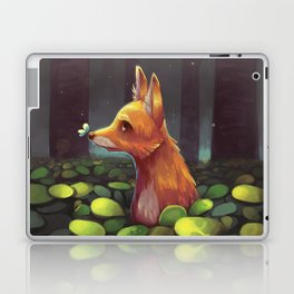 The Lonely Forest Fox Laptop & iPad Skin