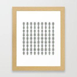 Crayon Colored Circles Framed Art Print