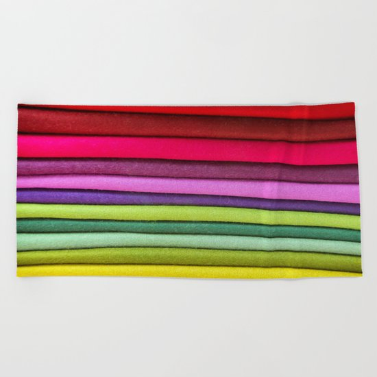 FABRIC FROLIC Beach Towel