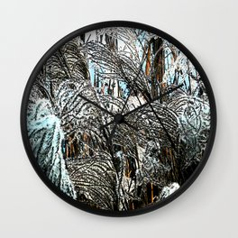 Reed - Blue and White Wall Clock