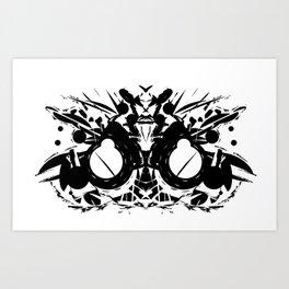 Shadow of Motors Art Print
