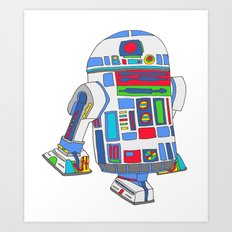 cool boys like epic droids Art Print
